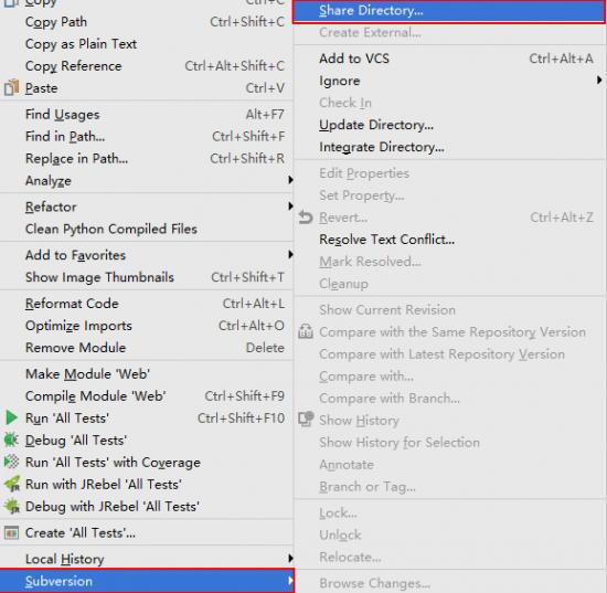 IntelliJ IDEA配合TortoiseSVN使用本地SVN仓库 - 第4张  | 扩软博客